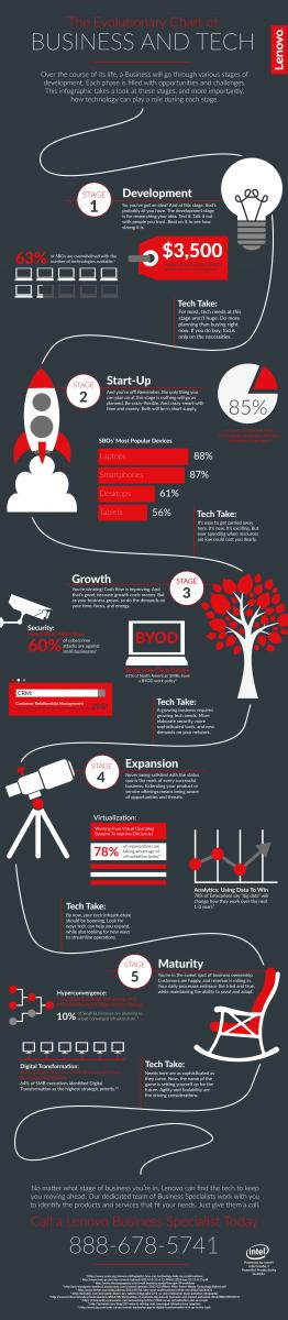 Business Evolution Infographic