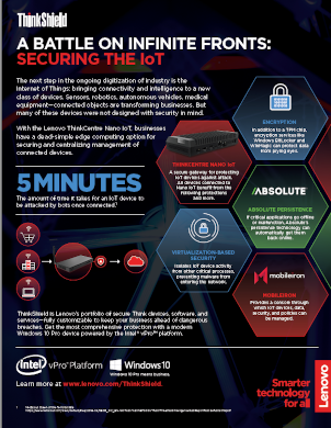 A battle on infinite fronts: securing the IoT