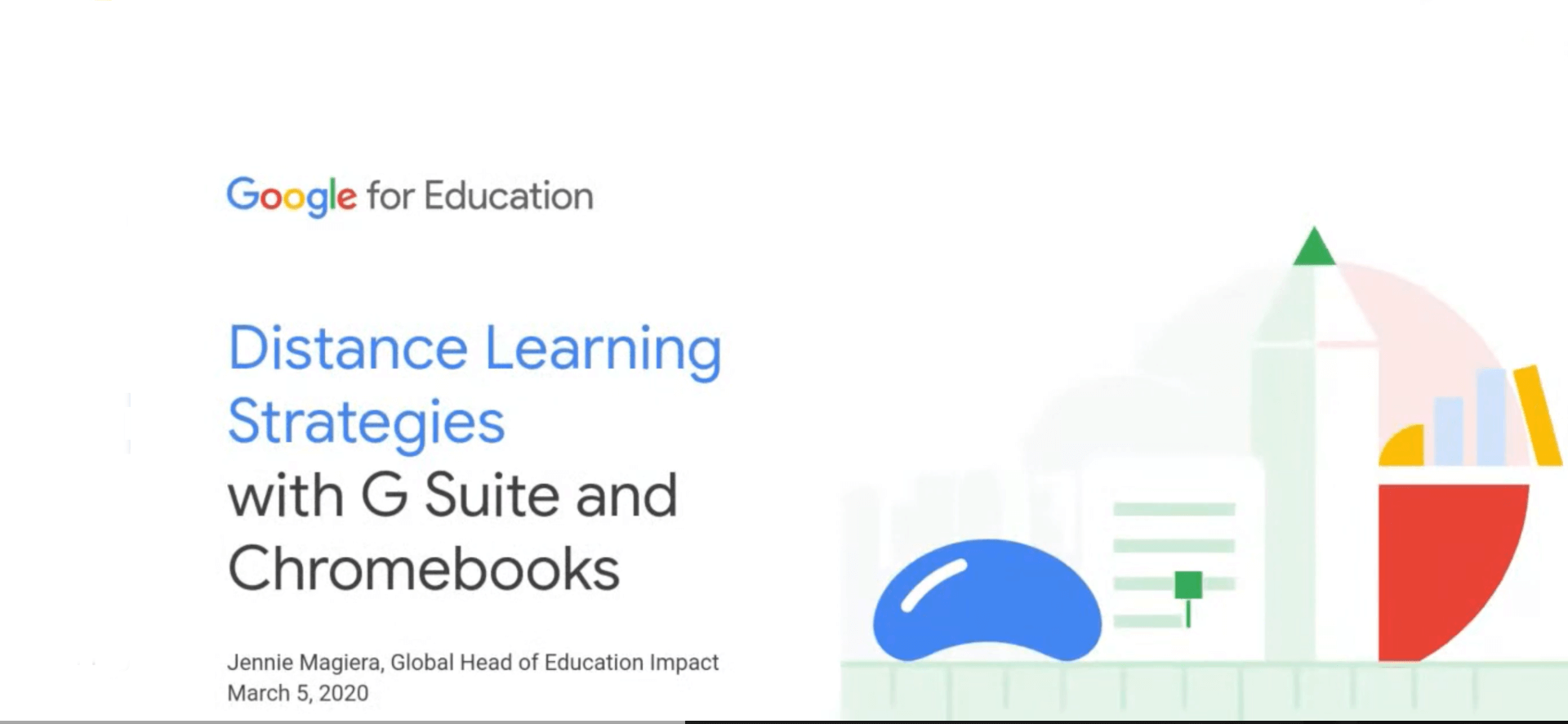 Distance Learning Strategies with G Suite and Chromebooks