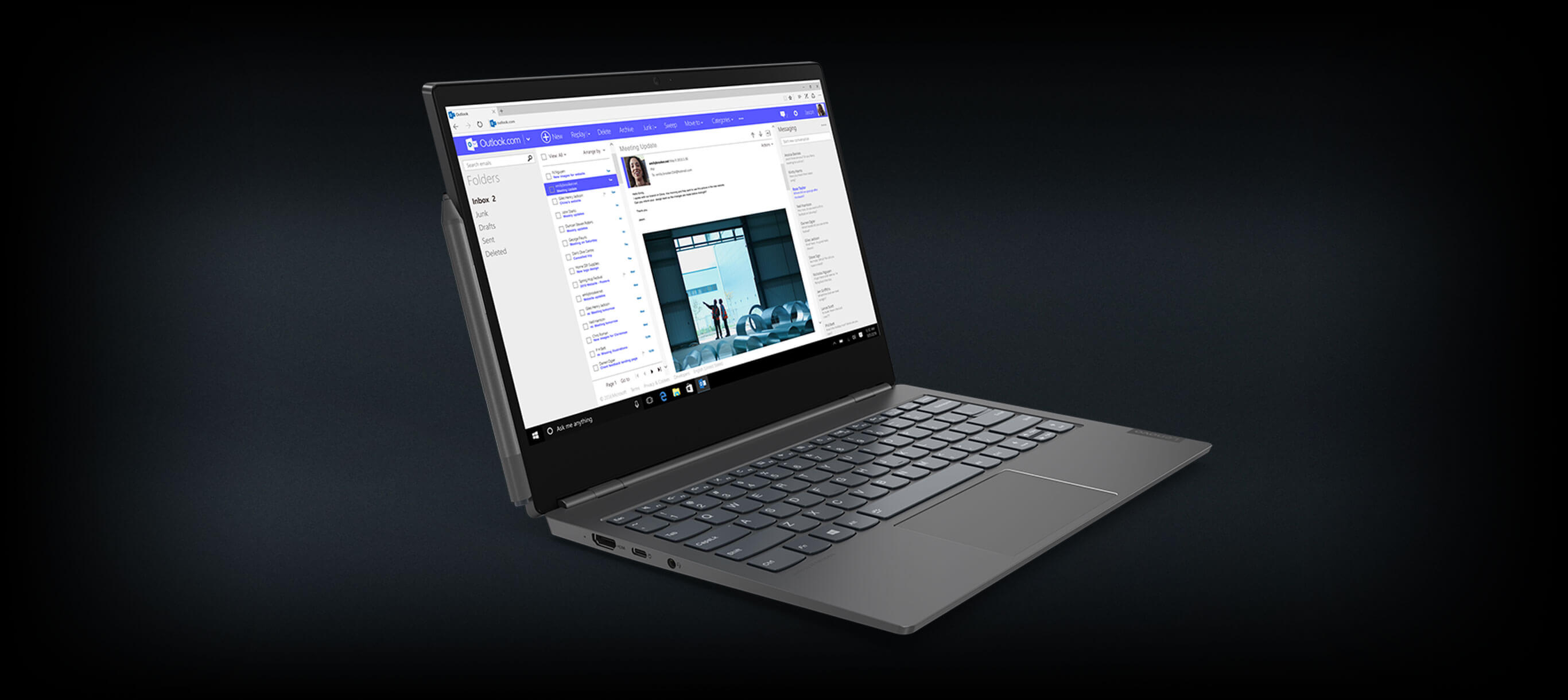 thinkbook plus laptop image