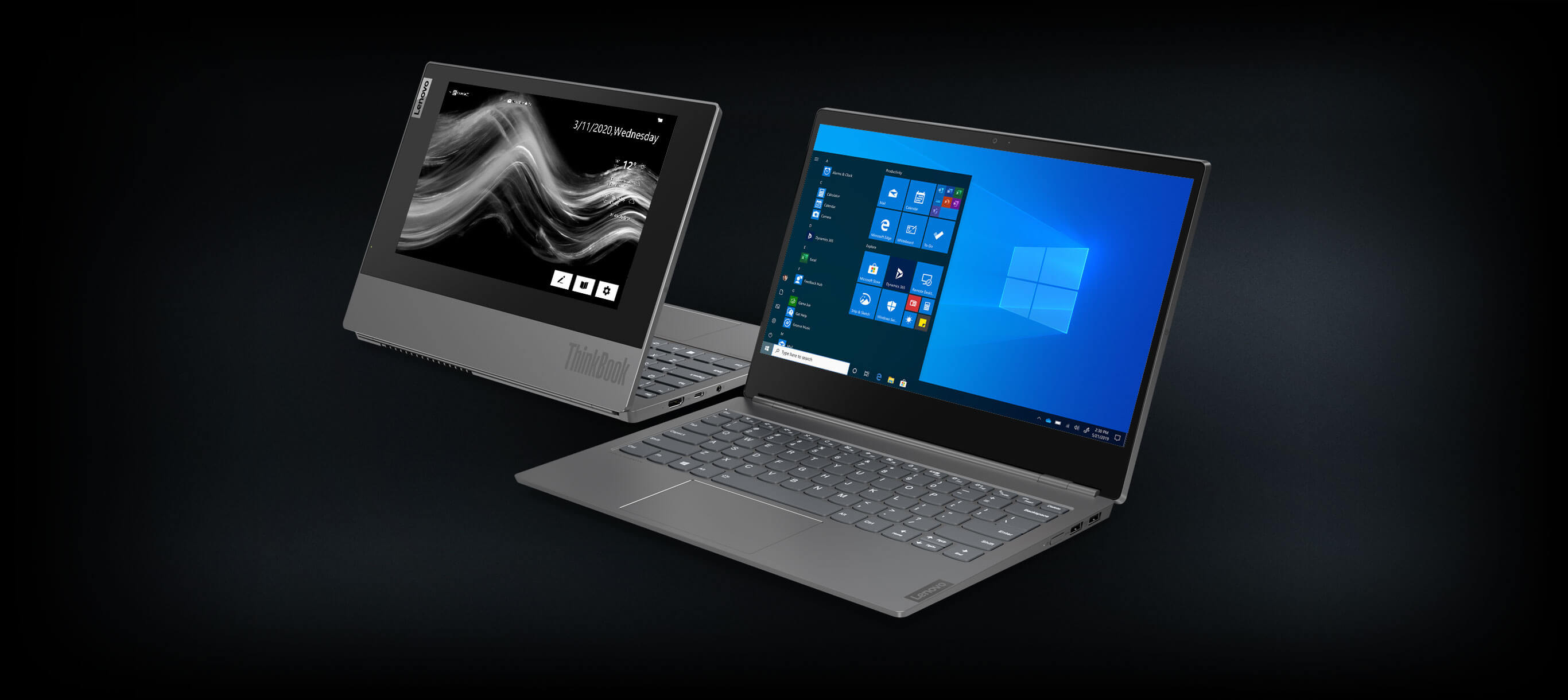 dual screen laptop ThinkBook Plus Laptop image