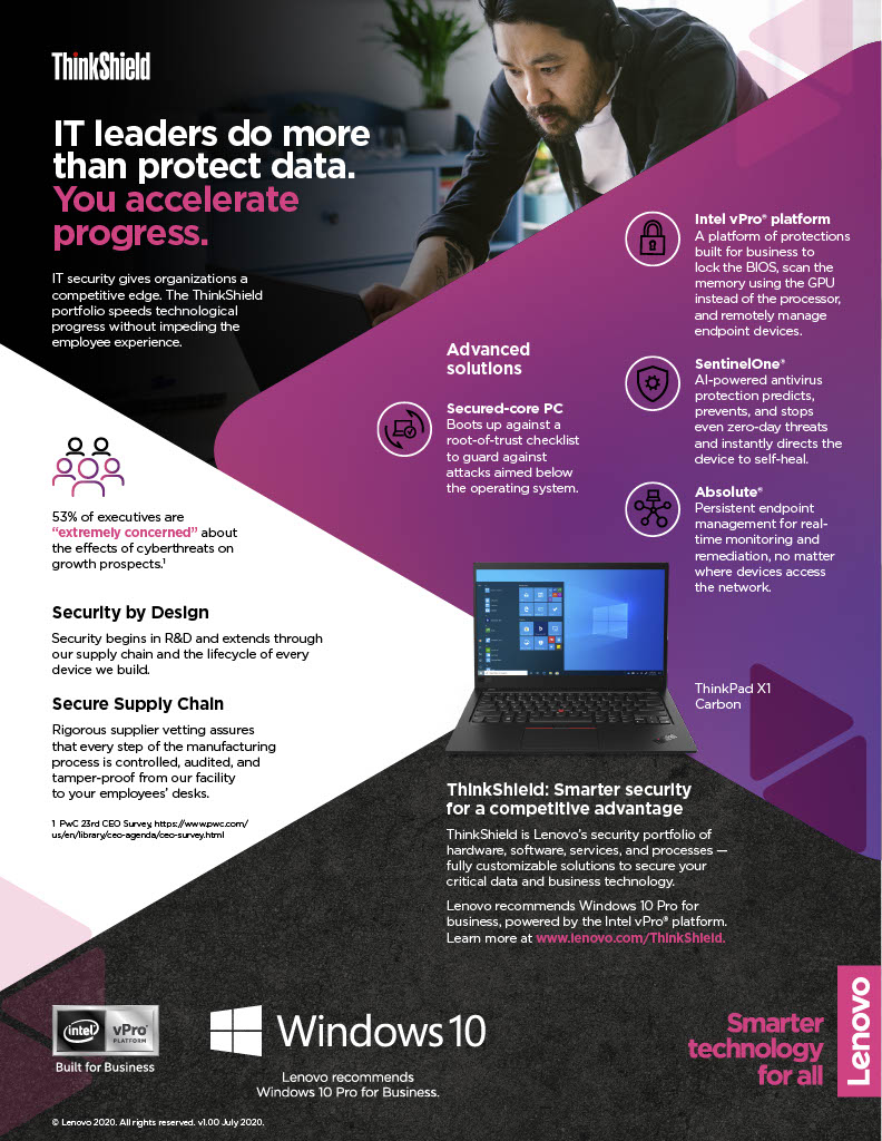 IT Leaders Do More Than Protect Data. You Accelerate Progress.