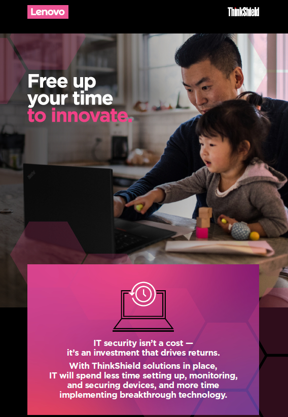 Free Up Your Time to Innovate.
