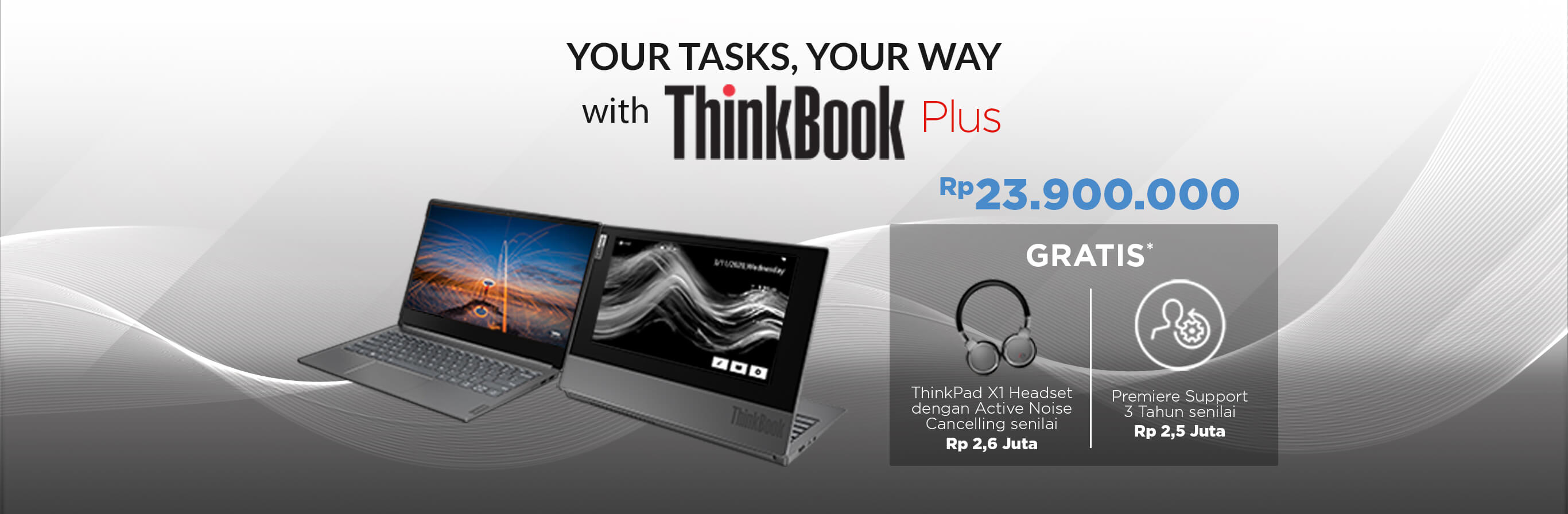 Promo ThinkBook ID