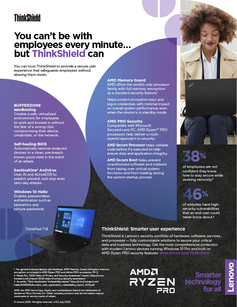 You Can't be with Employees Every Minute… but ThinkShield Can