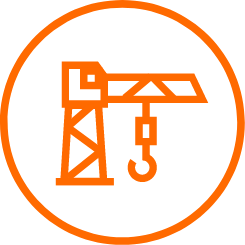 workstation computer crane icon
